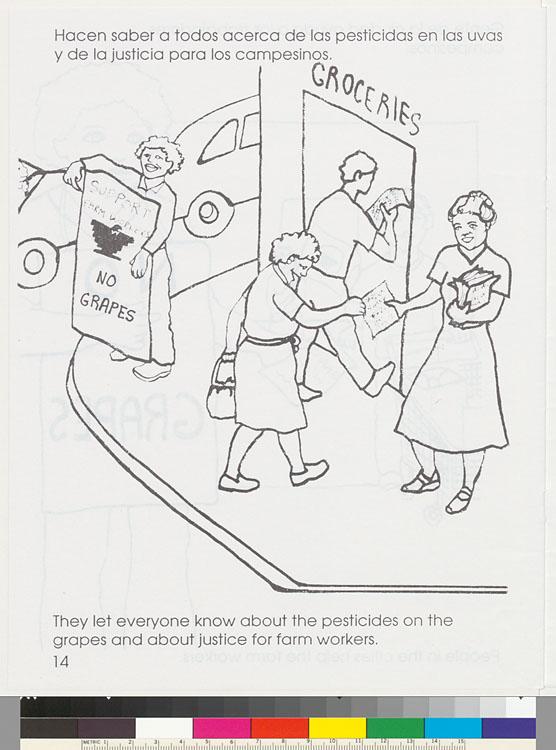 A United Farm Workers Coloring Book = Libro para colorear de los ...