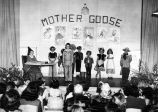 Mother Goose playlet graduation exercises at Murray School (1950), photograph