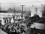 Western Pacific RR [picture] : 1st train into Oakland, 1910.