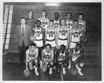 Photograph of the Alameda County State College men's basketball team