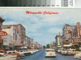 Marysville Main Street 1950