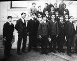 [Portrait of a group of men]