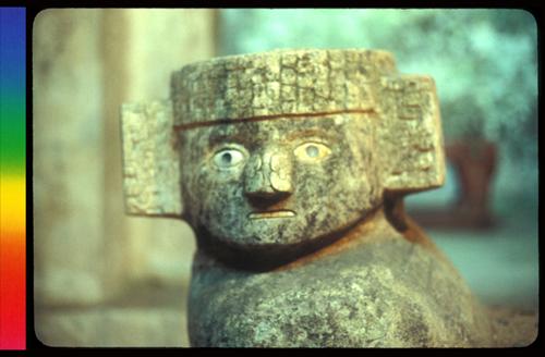 escultura maya lookalike