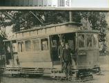 Narrow Gauge Railway Car in San Jose