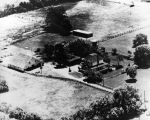 Aerial view of John Green's property (1933), photograph