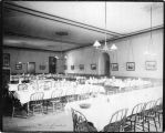 Photograph by Taber of Mills Hall dining room