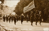 Armistice Day parade and celebration in Banning, California in 1919