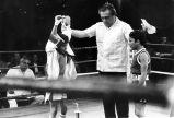 Lorenzo Trujillo is shown winning a boxing match