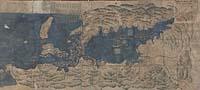 Shōhō san-nen no natsu Kurofune Nagasaki e nyūshin ni tsuki sō daimyō no aitsume sōrō ezu