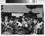 [Junior Wheelchair Sports Camp, Mission Viejo CA photograph].