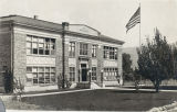 Banning High School building in 1918
