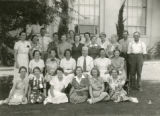 Faculty photograph of Central Elementary School staff in Banning, California