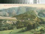 Postcard of the Beautiful Foothills, Santa Clara County, California