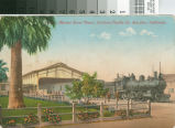 Postcard of the Market Street Depot, Southern Pacific Co., San Jose, California