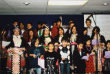 The Hmong Christian Alliance Church children's choir in Banning, California