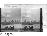 New York Sky Line. N.Y.