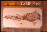 [Welcome to Castille Homes, map of planned development phases slide].