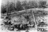 Installation of compressor equipment at Weir Creek Adit