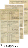report cards for one 1912 student