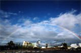 Commerce Casino with double-ended rainbow