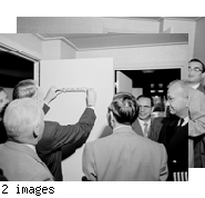 """VIP PW Royal Suite party (Neptune Suite)  4/13/54. MY"" 5 negs Unassigned."