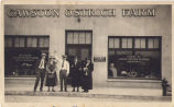 Group Poses in Front of the Cawston Ostrich Farm Sales Room, South Pasadena, CA
